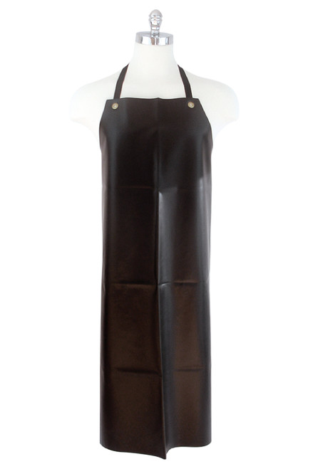 Apron BIB - PVC Black Heavy Duty Seamless 829 x 1220mm Nylex