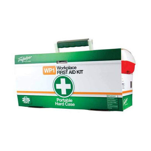 First Aid Kit - Workplace 1 Portable - [876477] - PP Robust Hard Case with Carry Handle