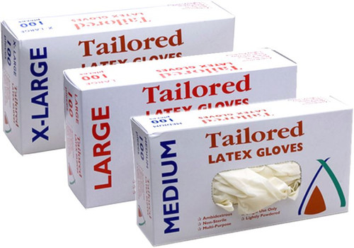 Glove Latex - Natural - Medium