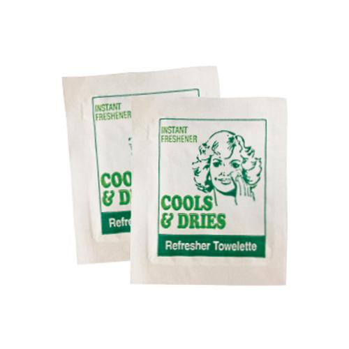 Britek - Refresher Towelettes, Portion Control Sachets [CD2000]