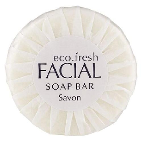 Pleat-Wrapped Soap [C20PW-WHT] - Plain White Wrapper 20g - 400/ctn