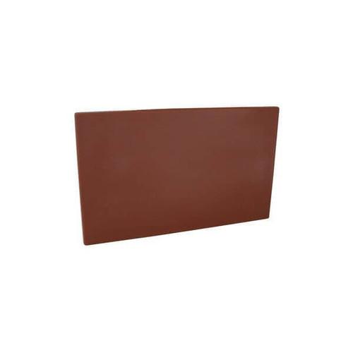 Cutting Board Polyethylene 380x510x13mm - BROWN
