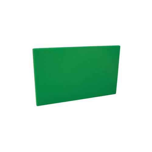 Cutting Board Polyethylene 380x510x13mm - GREEN