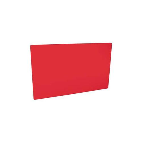 Cutting Board Polyethylene 380x510x13mm - RED