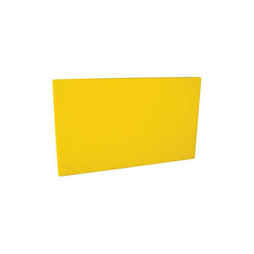 Cutting Board Polyethylene 380x510x13mm - YELLOW