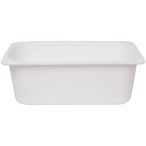 Ice cream Container Plastic 5Ltr - WHITE - 310.0 x 125.5 x (H)160mm