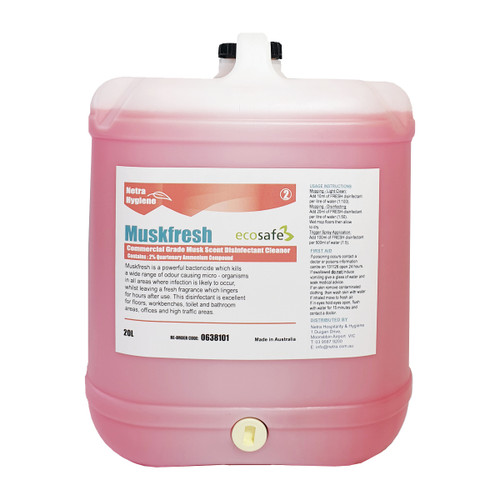 FRESH Disinfectant - MUSK 20L
