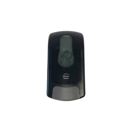 Dispenser - Hand Soap 1000ml (MANUAL) - Wall Mounted - Bulk fill - ABS Plastic - 160 x 110 x 280mm - BLACK
