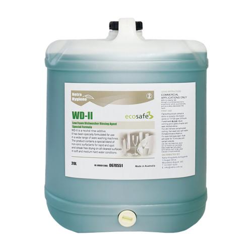 WD2 - WAREWASH Rinse Aid - Stage 2 GREEN 20L