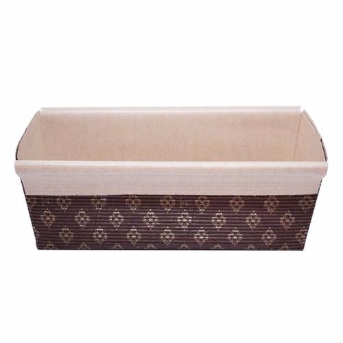 Paper Baking Mould - Rectangular - [BM6223R] - 108x250mm(TO), 90x250mm(TI), 224x70mm(B), 62mm (H)