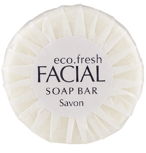 Eco-Fresh Classic Collection - Soaps - Pleated Wrapped 20g - [C20PW-ECO]
