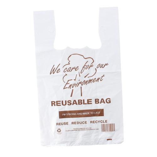 Carry Bag - REUSABLE - XLarge (Brown Print) - [RSB-L] - 330x170+550mm