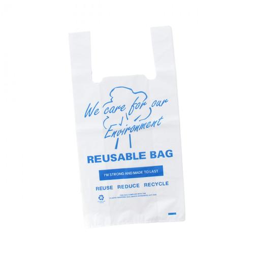 Carry Bag - REUSABLE - Medium (Blue Print) - [RSB-M] - 260x130+500mm