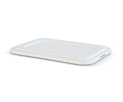 LID FLAT (Sugarcane) [TR4L] / suit GREENMARK 4 Compartment Deep Tray