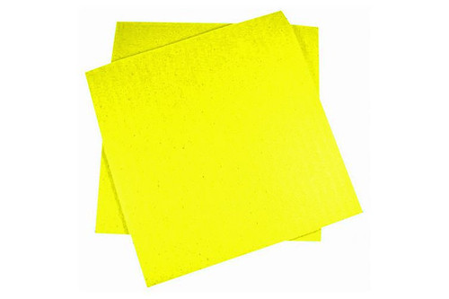 "Cellulose Sponge Cloth 7x8"" Yellow"