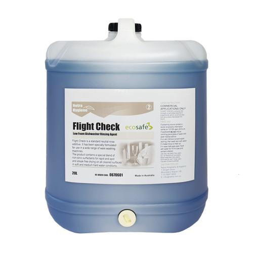FLIGHT CHECK - Rinse Aid & Drying Agent Blue 20L