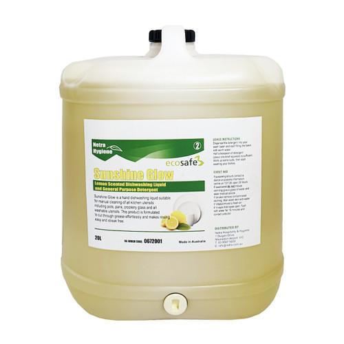 SUNSHINE GLOW 20L- Lemon Sink Detergent