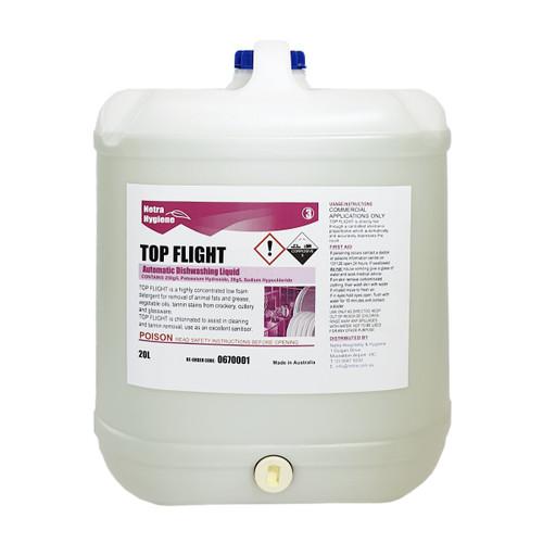 TOP FLIGHT 20L- Automatic Dishwasher Liquid - CLEAR