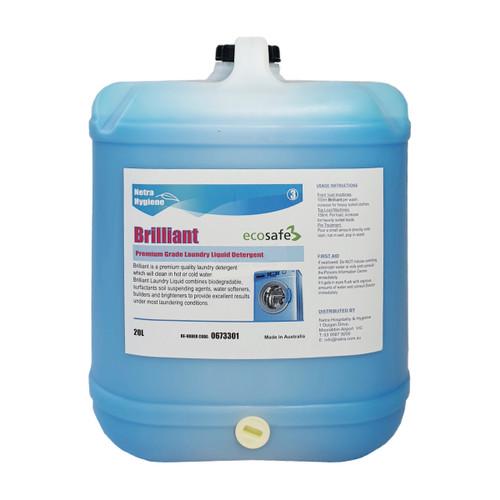 BRILLIANT 20L- Premium Laundry Liquid - TRIPLE Concentrate