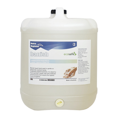 Hand Soap Antimicrobial - BANISH Clear Colour