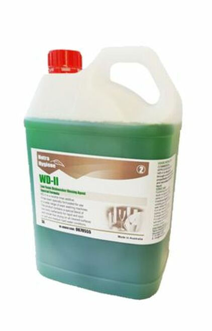 WD2 - 5L WAREWASH Rinse Aid - Stage 2 GREEN