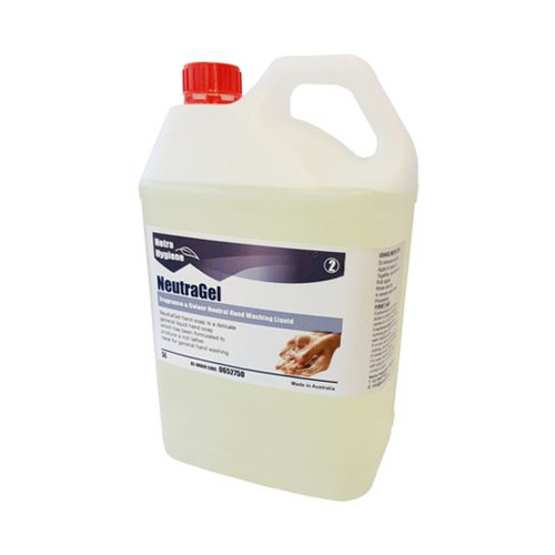 NEUTRAGEL 5L - Odourless/Colourless Hand Soap