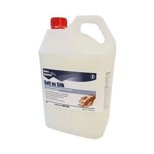 Soft as Silk 5L - Liquid Hand & Body Soap White - Spring Blossom