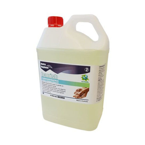 BANISH 5L Hand Soap Antimicrobial - Odour/Colour Free