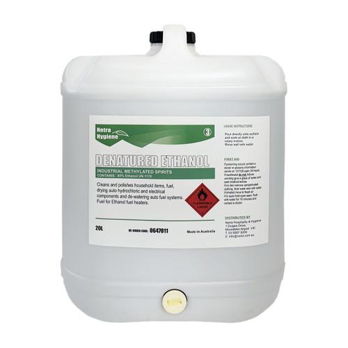 Methylated Spirits 20L > 95% Pure Ethanol