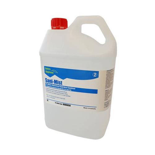 SANI-MIST - 5L Food Area Sanitiser (Ready to Use) Safe NON Toxic