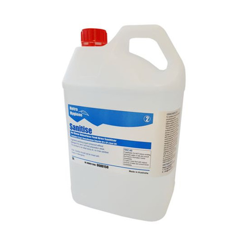 SANITISE - 5L Food Area Sanitiser Concentrated - Have to dilute - Safe NON Toxic