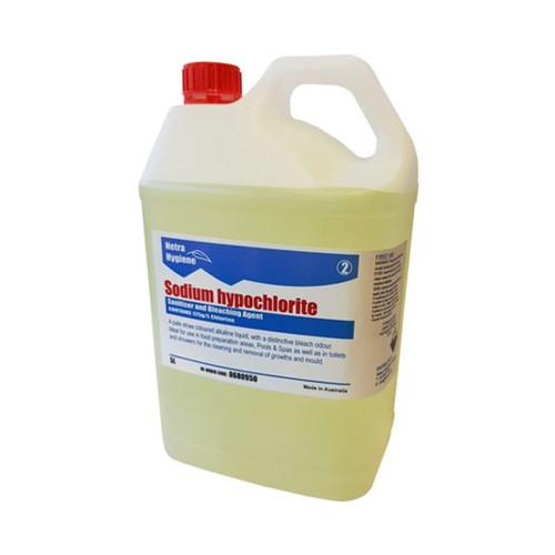 Sodium Hypochloride - 5L Pure Bleach 12.5%