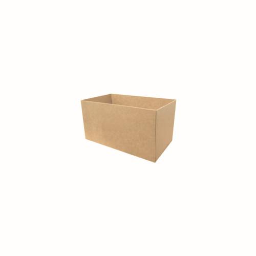 Burger Nest (Brown Kraft Board) - SMALL - 100x60x60mm - BIOSERV