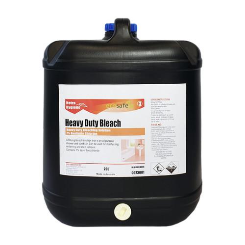 Heavy Duty Bleach 7% Chlorine 20L