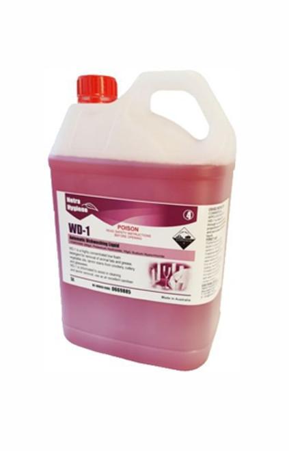 WD1 - 5L Auto Liquid WAREWASH - Stage 1 PINK
