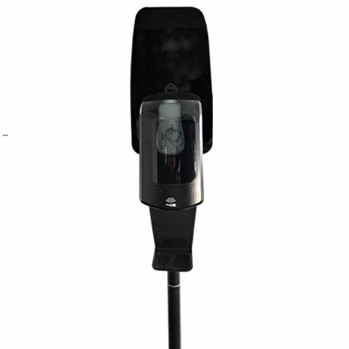 Sanitising Station - BLACK - Includes Floor Stand & Automatic Dispensing Unit 1000ml - Bulk fill