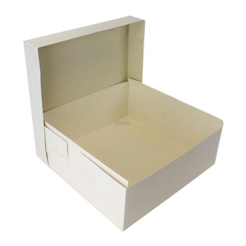 Cake Box - Square - White