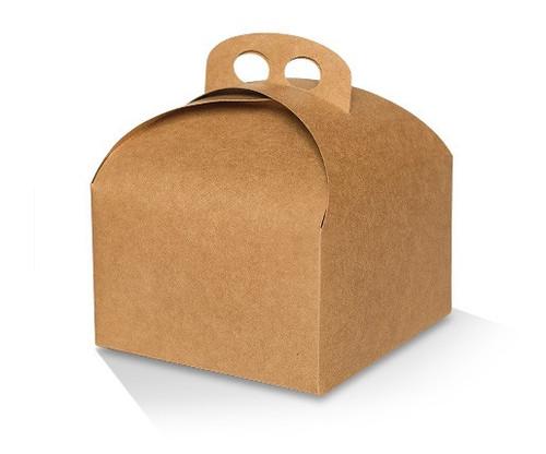 Cake Box - Cafe Style - Brown Kraft - LARGE