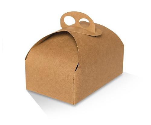 Cake Box - Cafe Style - Brown Kraft - MEDIUM