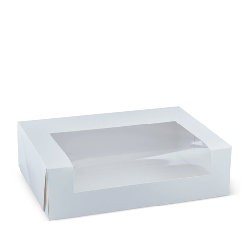 Cake Box with WINDOW - 12 Cup Cake Box - [Q307S0001] - 360x255 x100mm
