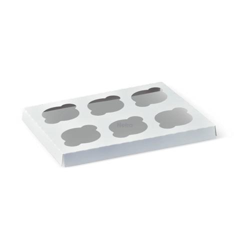 Cake Box Inserts - 6 Cupcake 290x236mm - Q122S8604