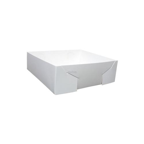 Cake Tray - No 19 White Premium Milk Board