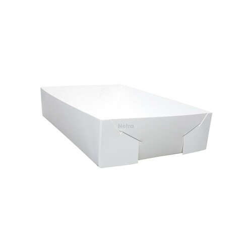 Cake Tray - No 20 White Standard - Double Sided