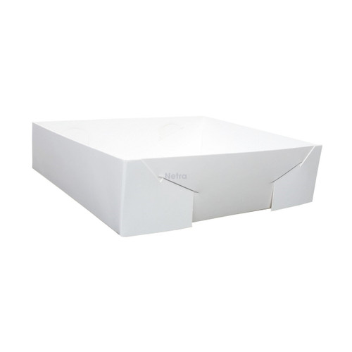 Cake Tray - No 22 White Standard - Double Sided
