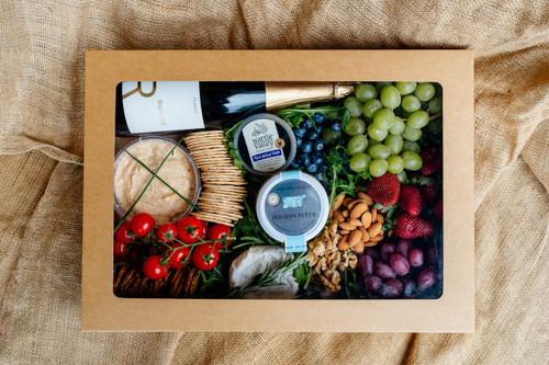 Grazing Box – Gourmet Cheese & Wine