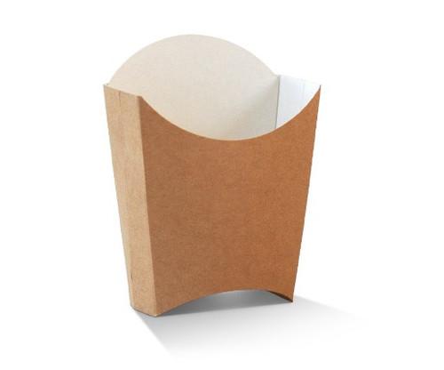 Chip Scoop (Paper) - (McDonalds Style) Brown Kraft - MEDIUM - GREENMARK - 83x132x140mm