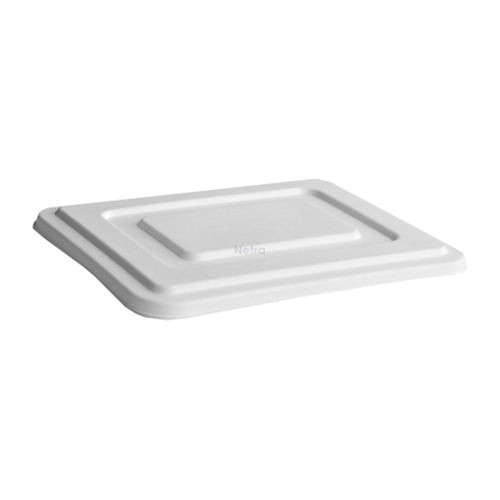 LID FLAT (Sugarcane) / suit GREENMARK 5 Compartment Deep Tray