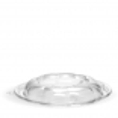 LID DOME (PET) - 185mm Round Clear / suits BioSalad Plastic (PET) Bowls 24 & 32oz