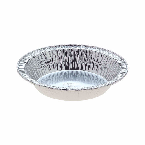 Foil Container [229] - Small Round Pie/Tart - (T)86mm (B)54mm (H)19mm - Capacity 95ml