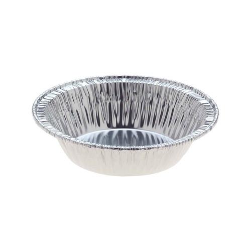 Foil Container [258C] - Round Mini Pie Dish / (T)65mm (B)47mm (H)17mm - Capacity 45ml